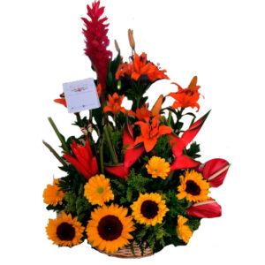 Flores en Bogota