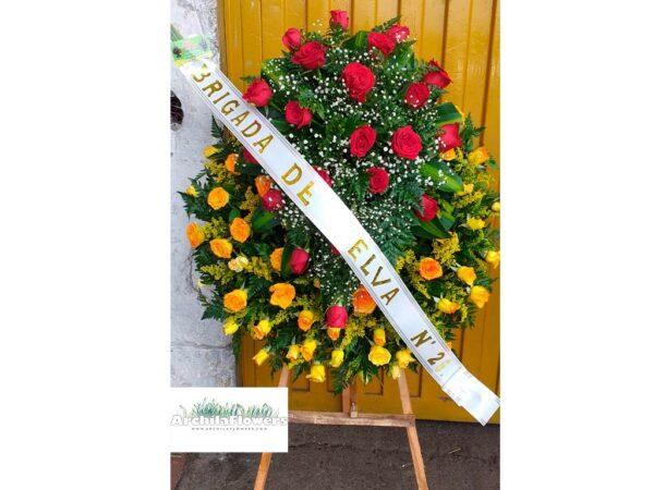 coronas fúnebres precios bogota
