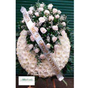 Coronas fúnebres en Zipaquira
