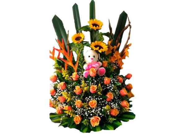 Flores en sopo