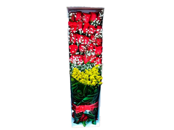 Cajas de rosas en Bogota